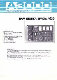 Depliant scheda RAM-EPROM