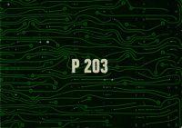 Depliant Olivetti P 203