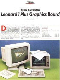 Test scheda video Leonard