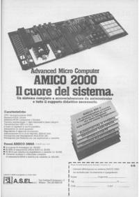Pubblicità Amico 2000