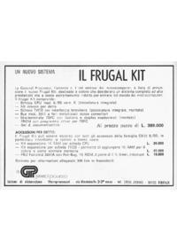 Pubblicità GP Frugal Kit