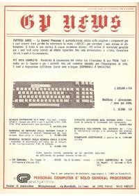 Pubblicità tastiera e componenti GP