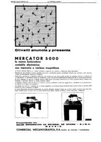 Pubblicità spagnola Mercator 5000