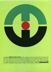 Pubblicità Olivetti Mercator 5000