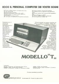 Pubblicità GP Modello T