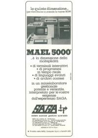Pubblicità MAEL 5000